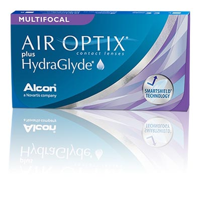 AIR OPTIX® plus HydraGlyde® MULTIFOCAL (6 db)