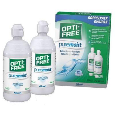 Opti-free Pure Moist (2*300 ml)